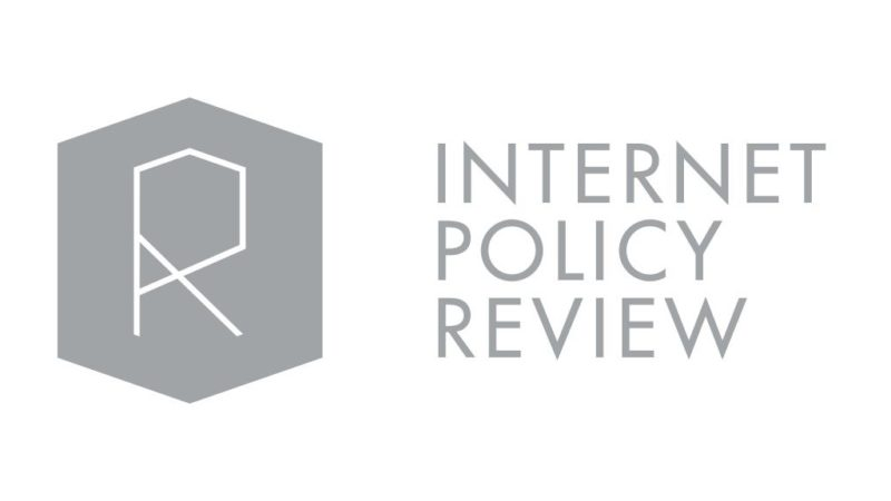 Internet Policy Review IPR