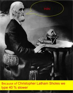 Eine lesenswerte Geschichte der Entstehung des Keyboards liefert David (1985)