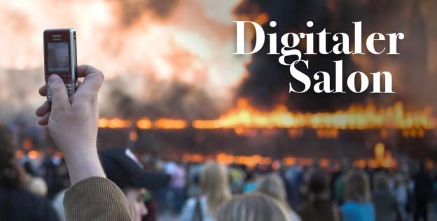 Digitaler Salon: Krisenberichterstattung in sozialen Netzwerken.