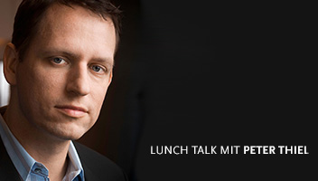 Lunchtalk mit Peter Thiel