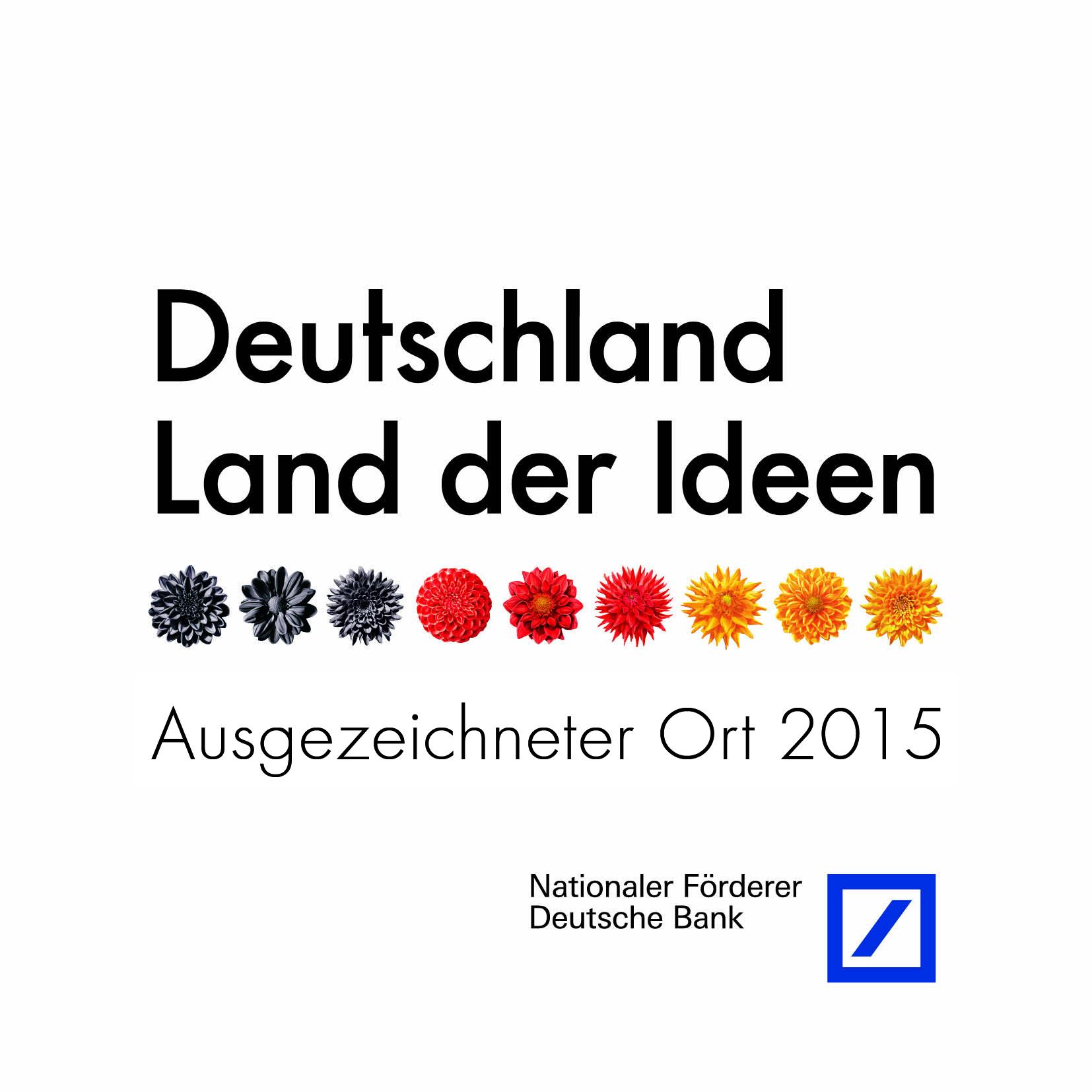 Ausgezeichneter Ort - Deutschland, Land der Ideen