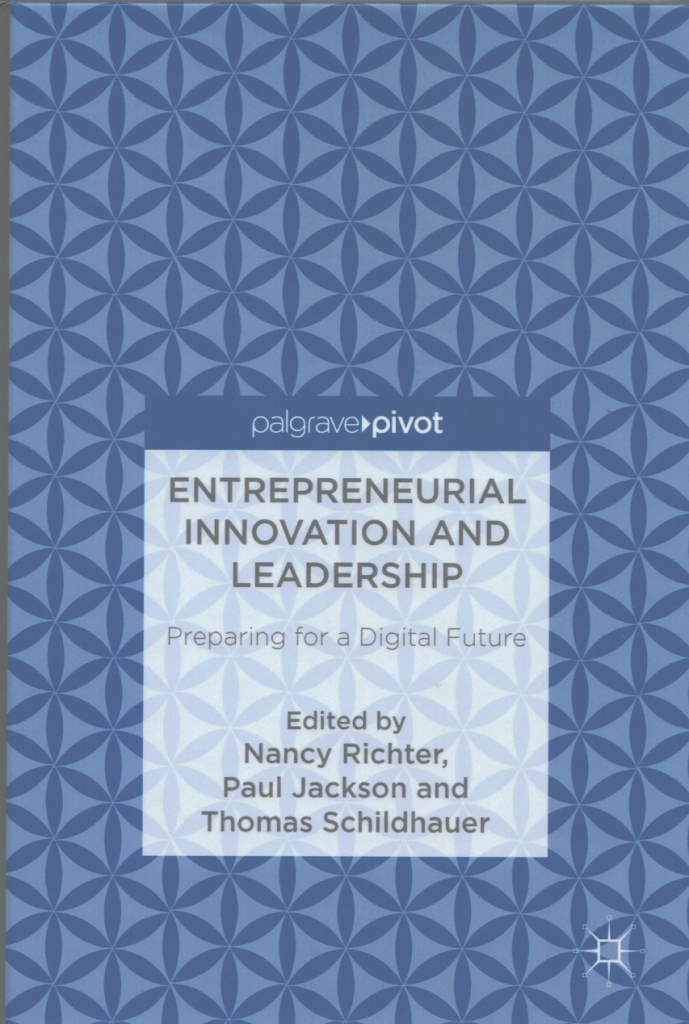Entrepreneurship and Innovation book thomas schildhauer 1