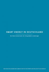 Smart Energy in Deutschland: Wie Nutzerinnovationen die Energiewende voranbringen