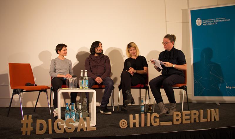 Panel Digitaler Salon Gewissensbytes