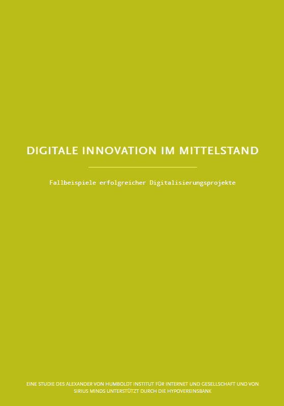 Digitale Innovation im Mittelstand_Deckblatt
