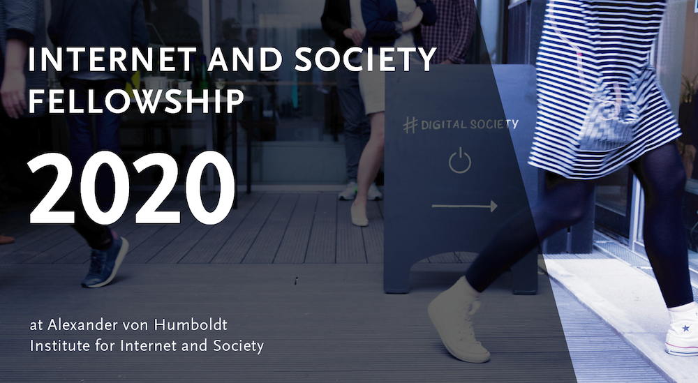 Banner Internet and Society Fellowship 2020