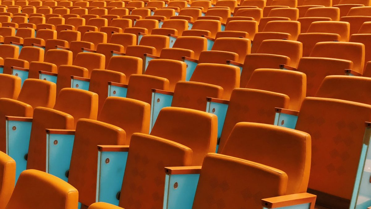 Orange Conference Chairs