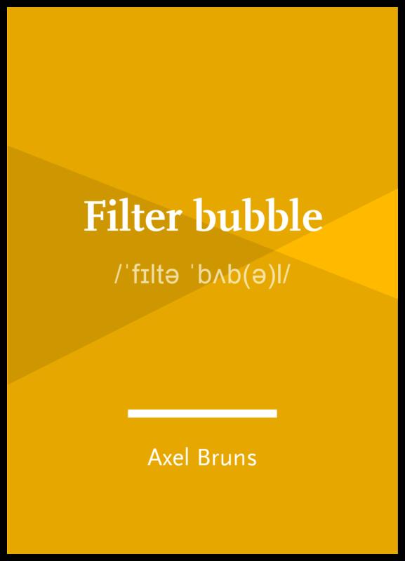 Concept: Filter bubble