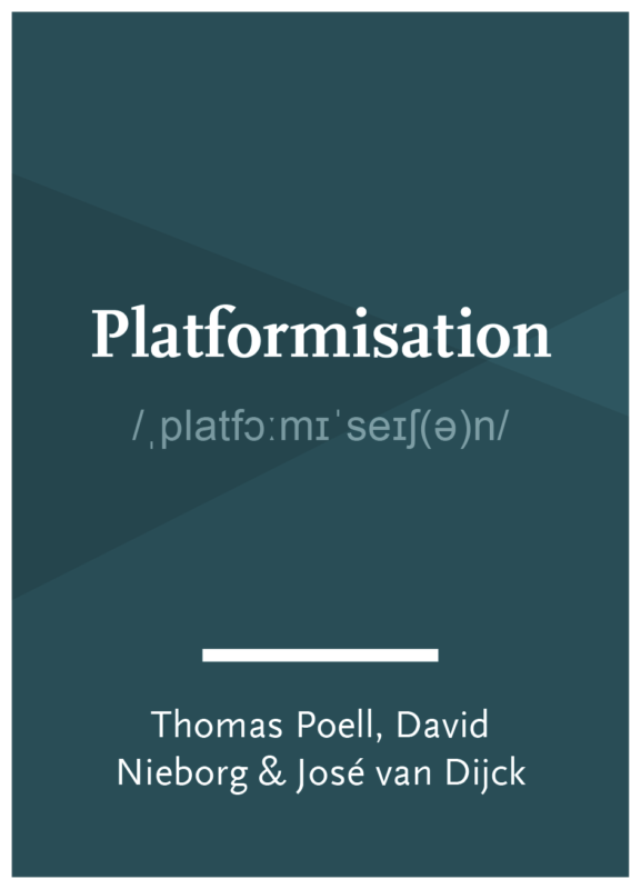 Concept: Platformisation