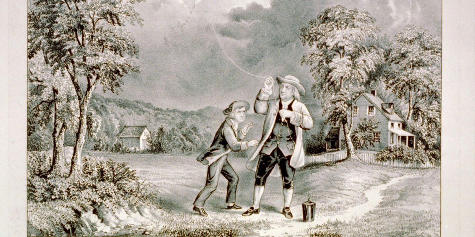 Benjamin_Franklin_Lightning_Experiment_1752