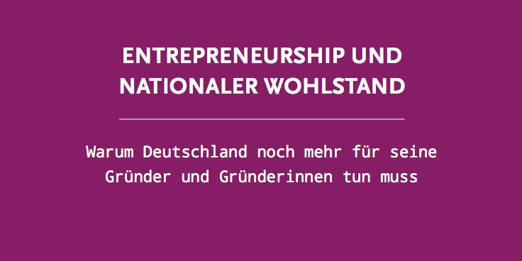 Entrepreneurship-Studie 1