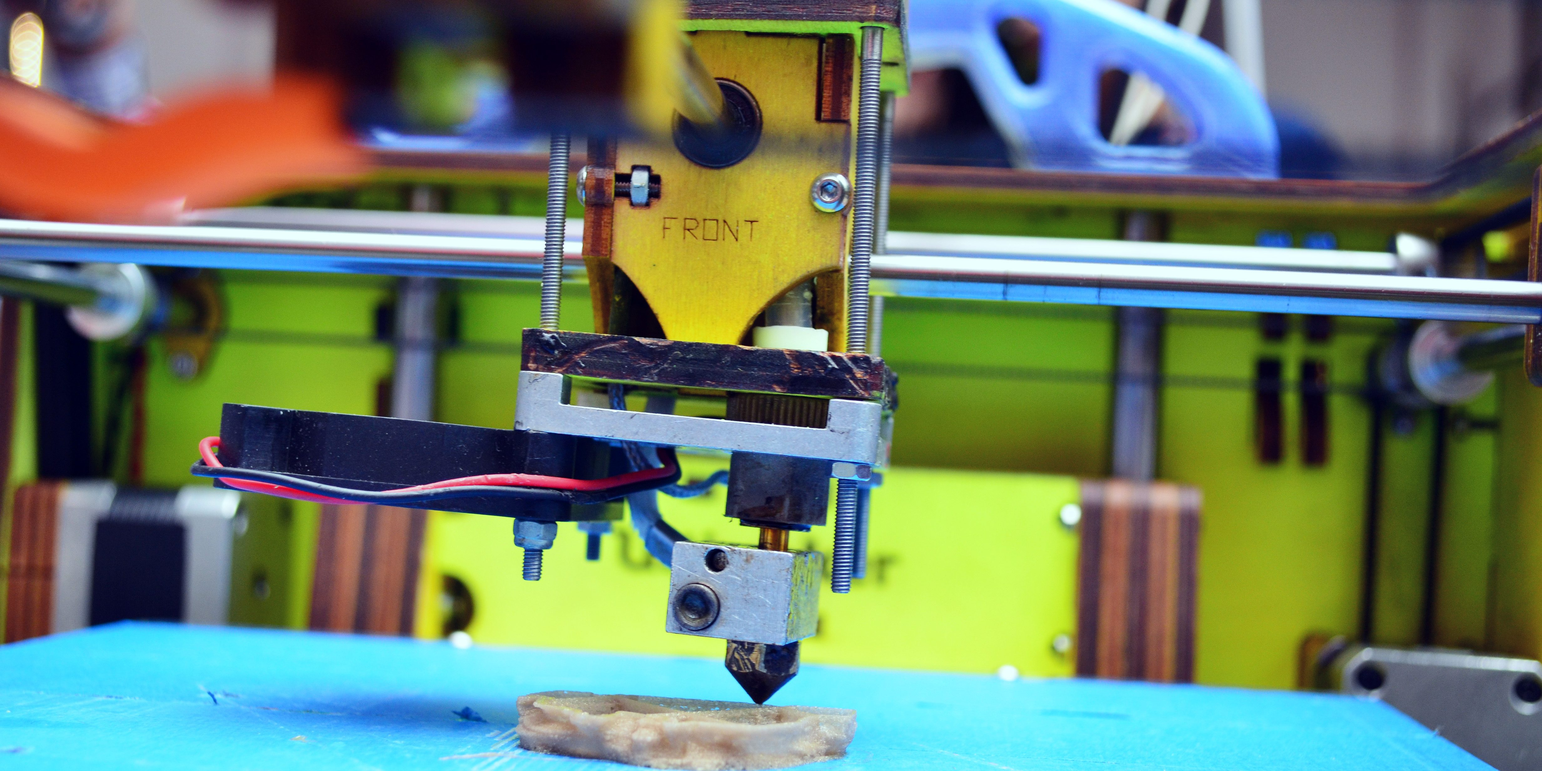Printing with a 3D printer