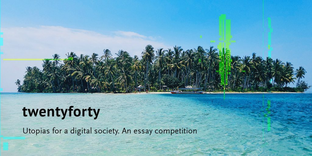 Paradise glitch essay competition banner