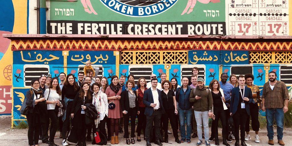 Eu Hub group picture in Haifa