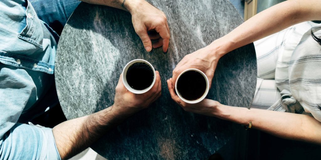 People drinking coffee | HIIG Science Blog